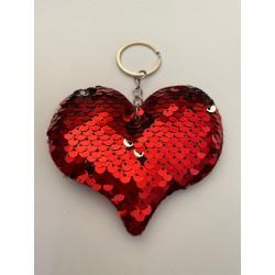 """Llavero """"Corazón Rojo """""""
